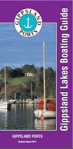 Boating Guide GL 2014 Image Boating Guide Cover